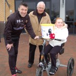 Dean Saunders, Eric Johnson and Lydia