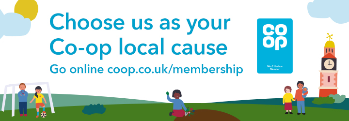 Choose us as your Co-op local cause...