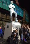 Darren and Bobby Moore Statue, Wembley