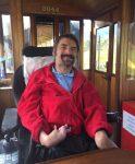 Darren on the Welsh Highland Railway